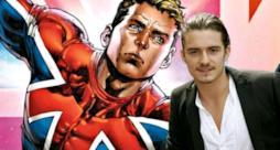 La foto dell'attore e del supereroe