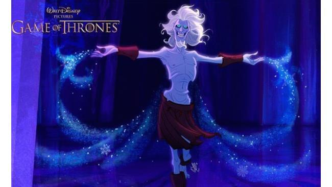 Un Estraneo di Game of Thrones in salsa Disney