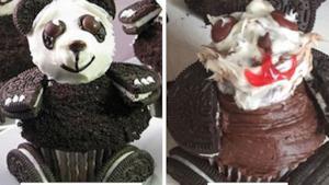 Un dolce a forma di panda