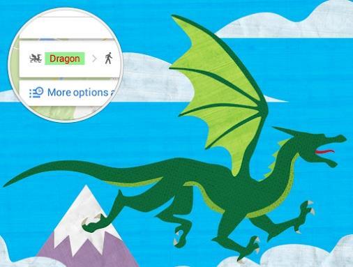 Easter Egg: nuove opzioni di percorso di Google Maps
