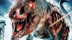 Il letale Z-Rex del film The Jurassic Dead