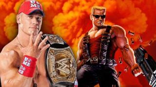 John Cena a sinistra e a destra il Duca