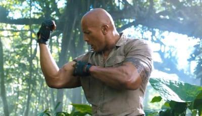 The Rock nel film Jumanji - Benvenuti nella giungla
