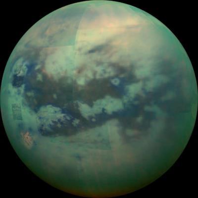 La luna di Saturno chiamata Titano