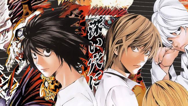 I protagonisti del manga di Death Note