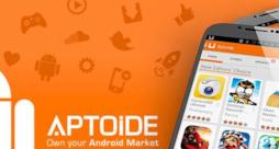 Un'immagine che mostra alcune app su Aptoide