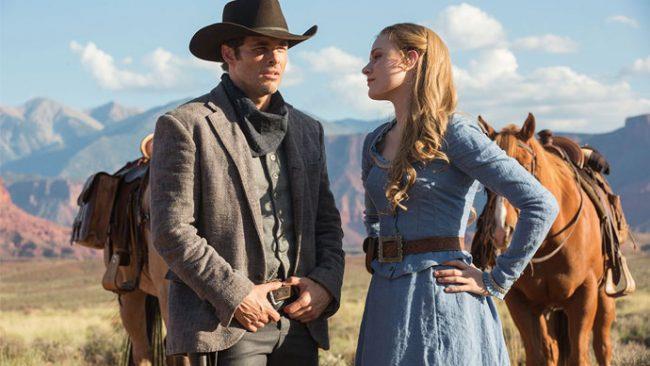 Una scena tratta dalla serie TV