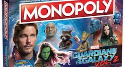 La scatola del Monopoly Guardiani della Galassia Vol. 2