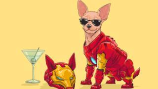 Iron Man in versione canina