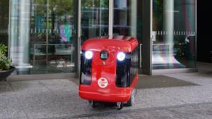 Il robot targato ZMP è pronto a consegnare sushi a domicilio