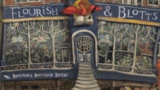 Il Ghirigoro di Flourish & Blotts per l'edizione illustrata di Harry Potter