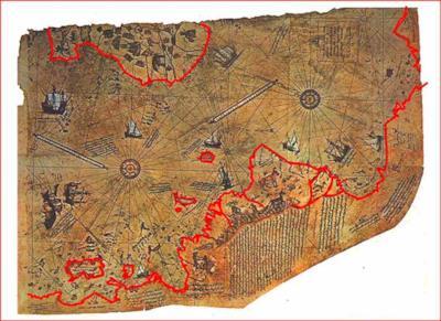 L'enigmatica mappa di Peri Reis