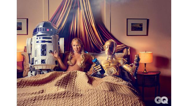 Amy Schumer a letto coi droidi
