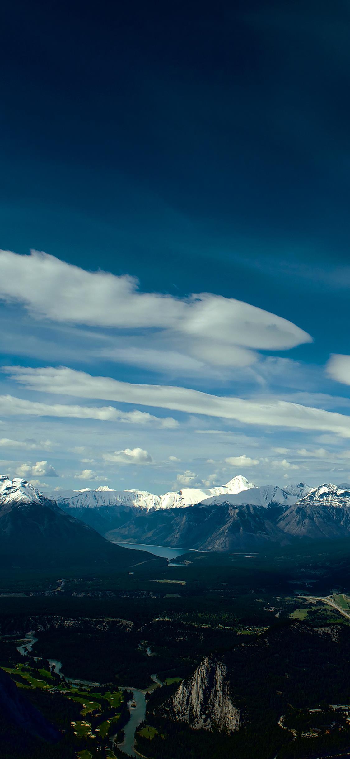 Le montagne innevate - Sfondi per iPhone, i migliori da scaricare gratis