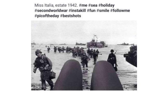 Miss Italia e il selfie fuori dal tempo