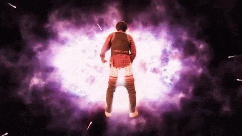 Il supereroe Tengaman si trasforma grazie al potere della masturbazione