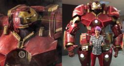 L'armatura Hulkbuster costruita da un fan