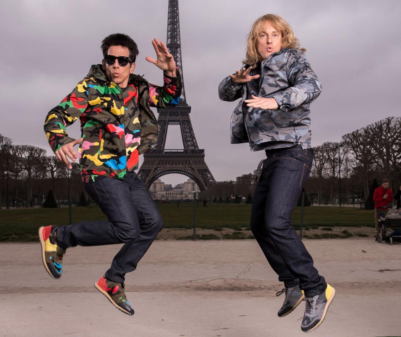 Derek e Hansel a Parigi