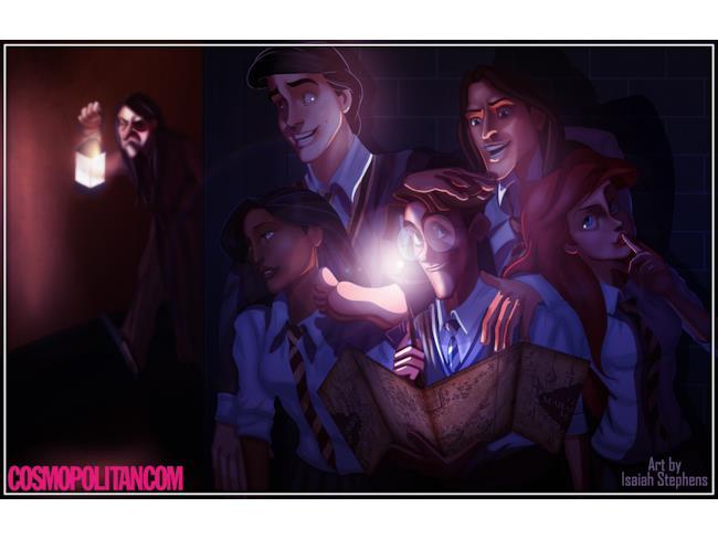 I Malandrini in versione Disney
