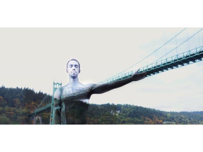 Body painting ponte