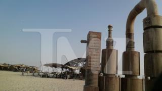 Foto di macchinari sul set di Star Wars 7