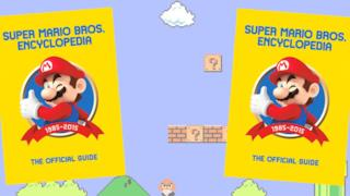 La copertina della Super Mario Encyclopedia