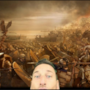 Totti con legionari romani