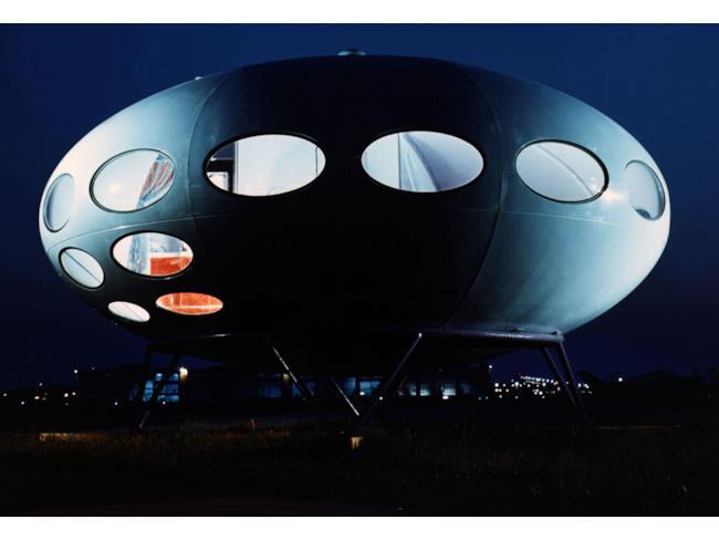 Una casa a forma di astronave