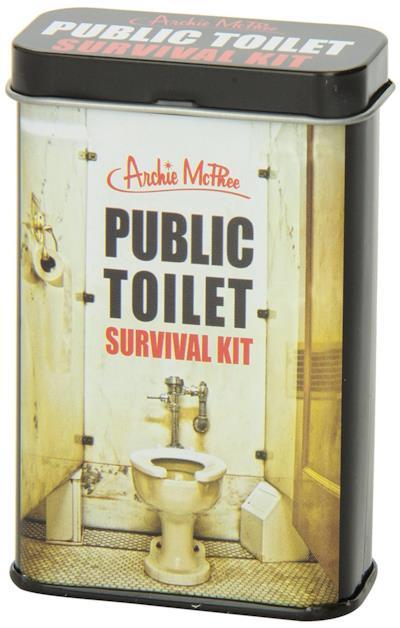 Un'immagine del survival kit per i bagni pubblici - I migliori regali di San Valentino per lei