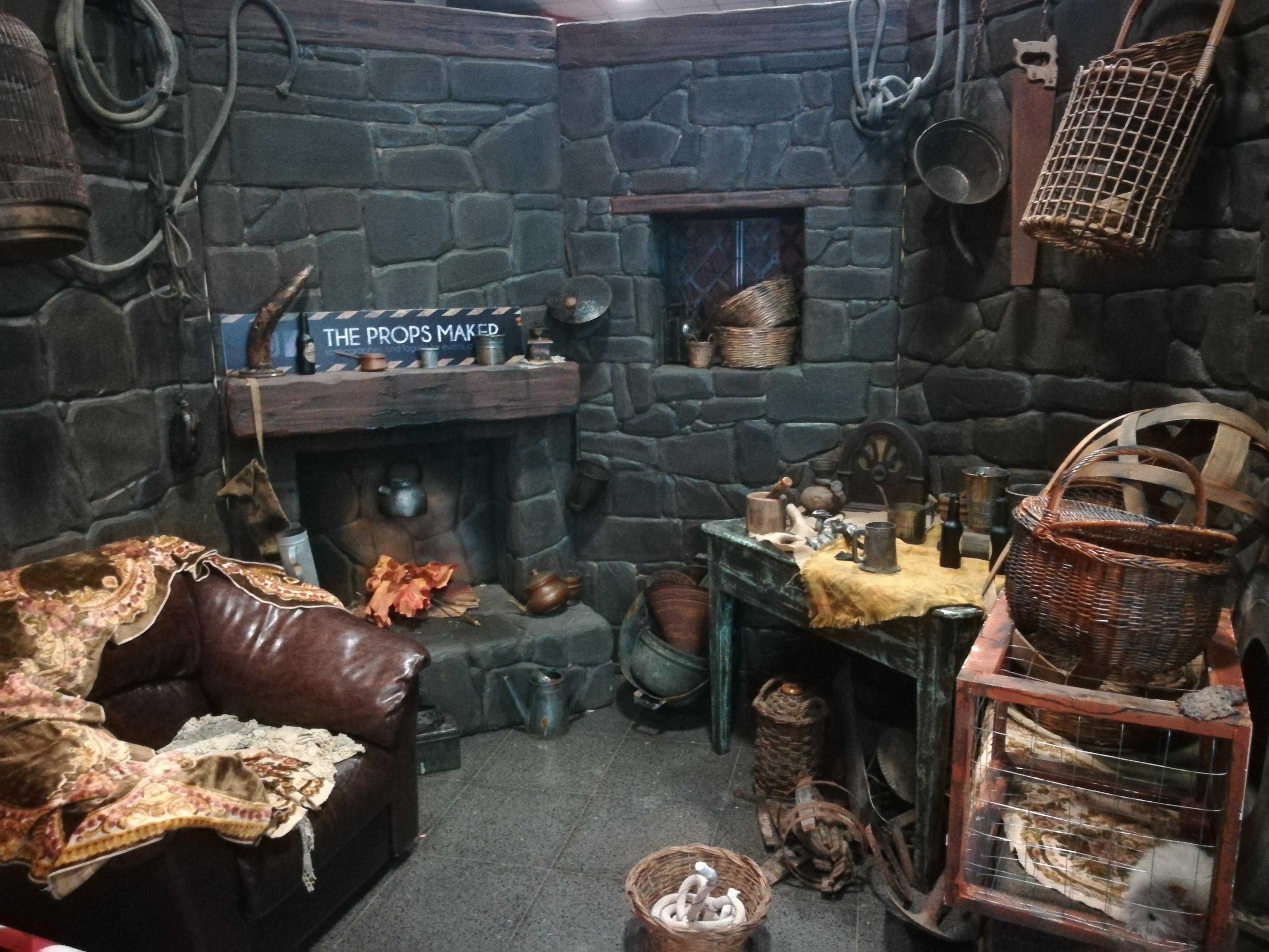 Riproduzione di una stanza di Harry Potter