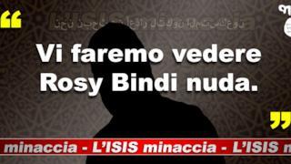 Rosy Bindi nuda: una delle promesse di ISIS Minaccia