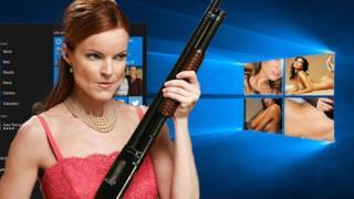 Una moglie contro il lato pornografico di Windows 10