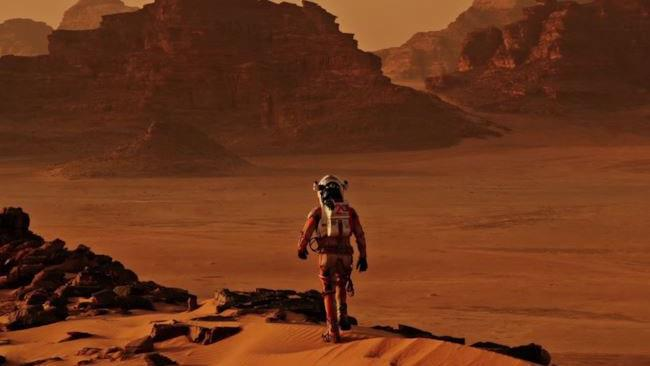 Un'immagine tratta dal film Sopravvissuto - The Martian