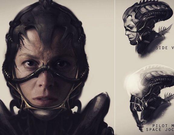 Concept Art per Ripley di Neill Blomkamp