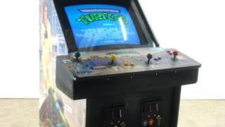 Il cabinet originale di Teenage Mutant Ninja Turtles