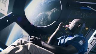 Una foto presa del video promozionale di Sushi Teleportation!