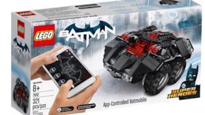 La foto della Batmobile LEGO