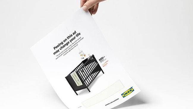 Il test di gravidanza firmato IKEA