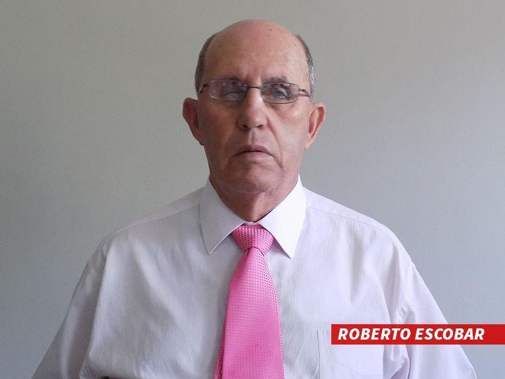 Roberto Escobar, fratello del noto narcotrafficante Pablo.