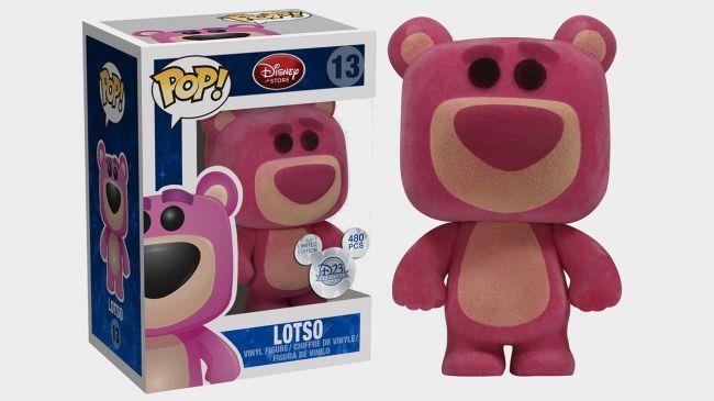 La versione funko dell'orsetto cattivo di Toy Story 3