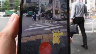 Un utente si gode Pokémon Go