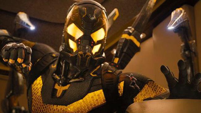 Calabrone in una foto promozionale di Ant-Man