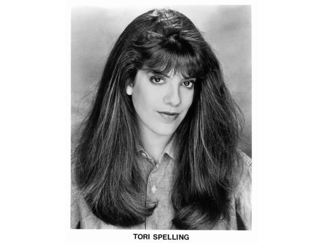 L'attrice Tori Spelling