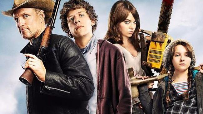 Il cast principale di Benvenuti a Zombieland