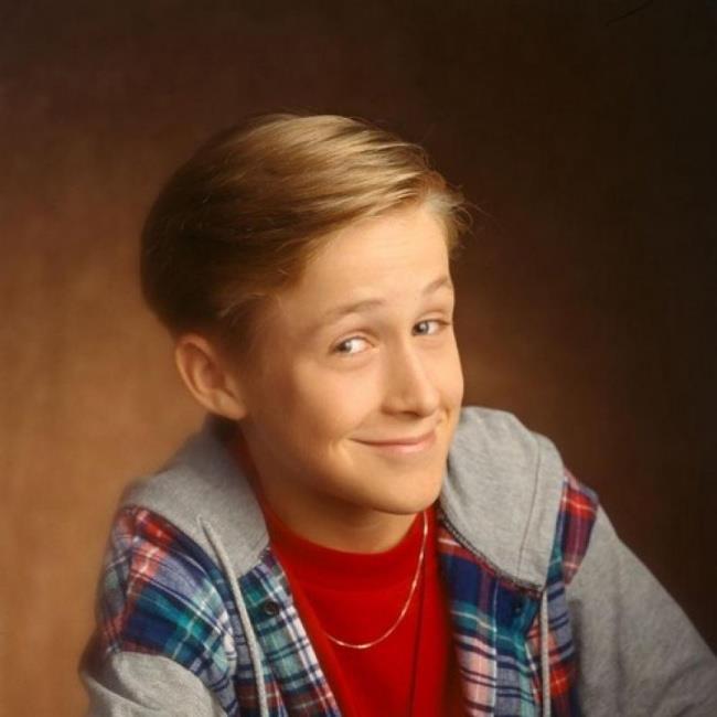 Un'immagine di Ryan Gosling da adolescente