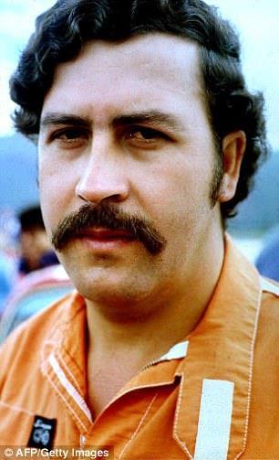 Il narcotrafficante Pablo Escobar