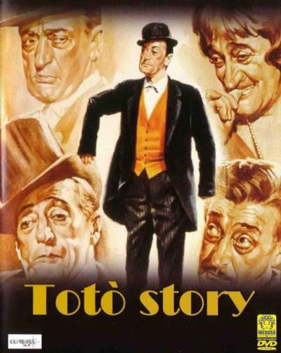 La locandina de Totò story