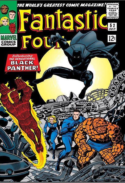 La copertina dei Fantastic Four