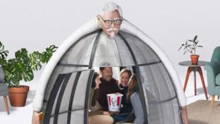 La tenda di KFC