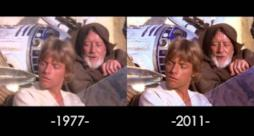 Una scena di A New Hope di Star Wars